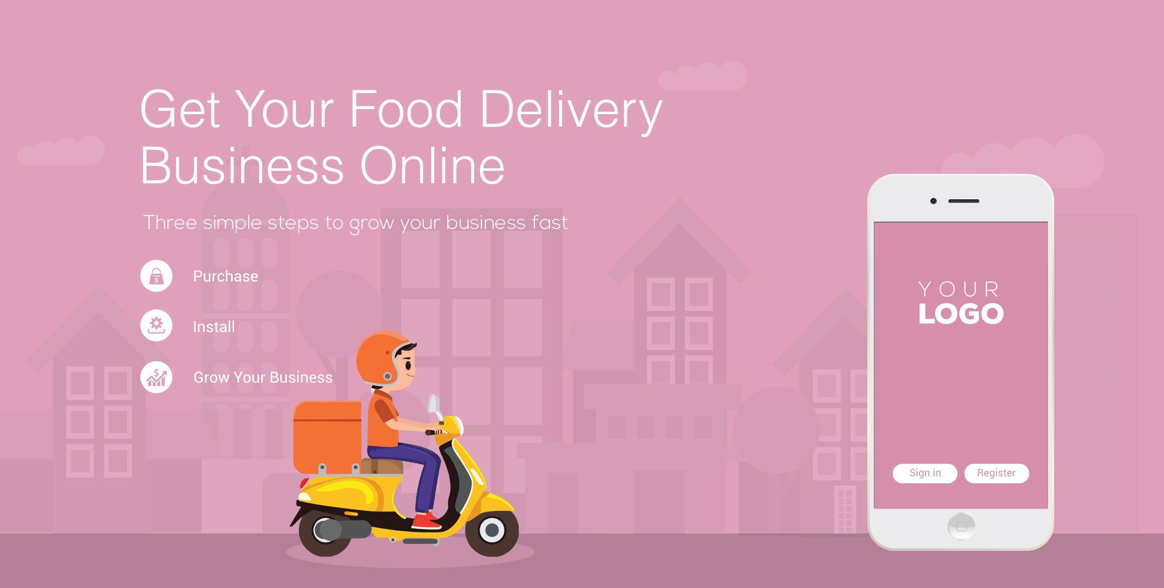 Pin by Shady j on On Demand Food Delivery App IOS and
