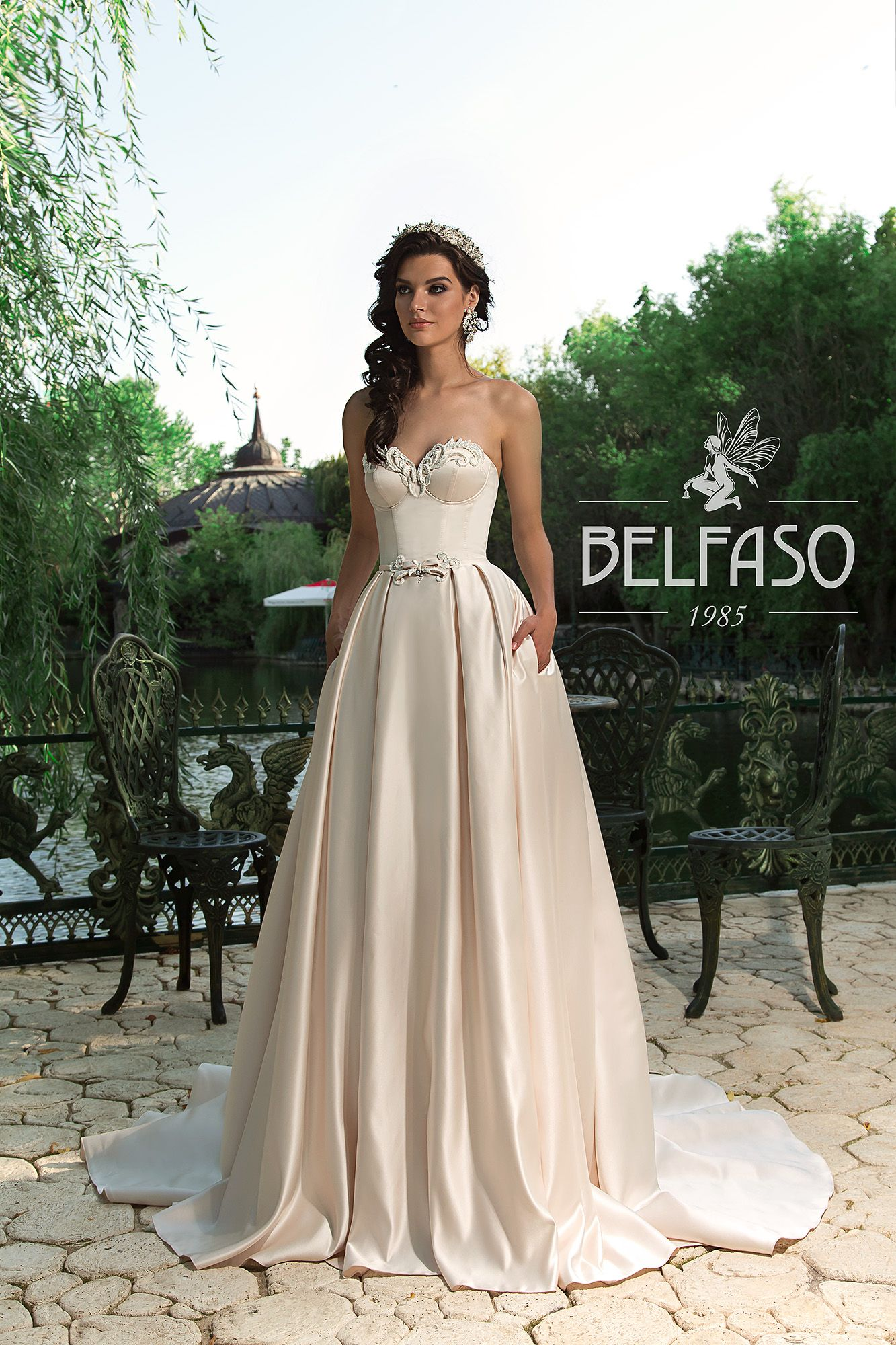 wedding dresses by BELFASO COUTURE ONLY at Charmé Gaby Bridal Gown ...