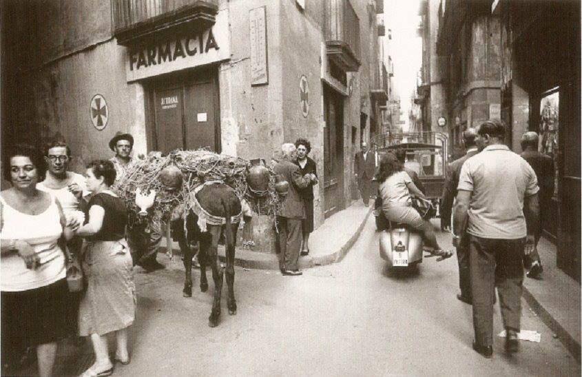 Barcelona años 50