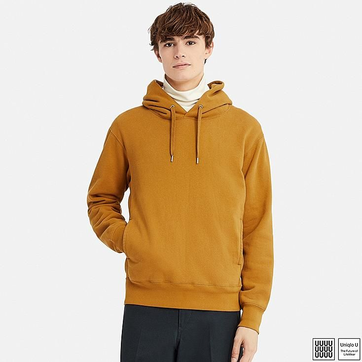 82cf6434b0 MEN U LONG-SLEEVE HOODED SWEATSHIRT