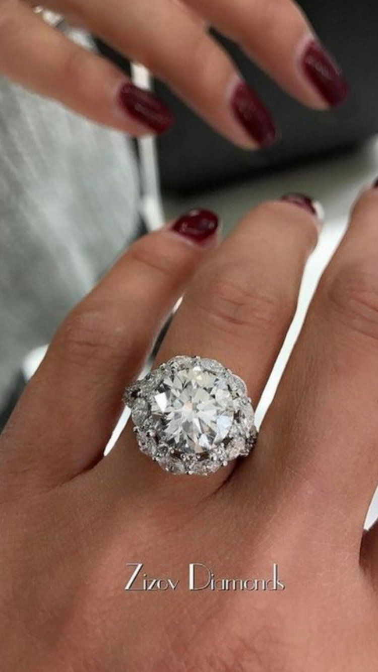 41 Flawless Diamond Engagement Rings by @zizovdiamonds | Diamond ...