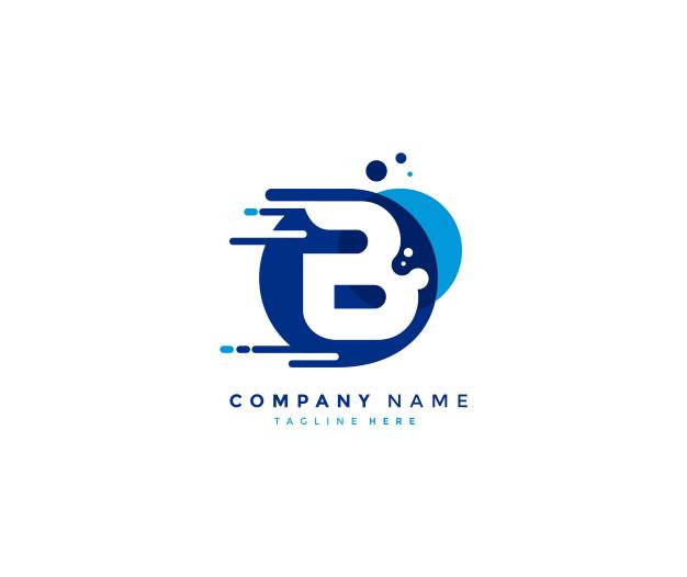 Enjoy These Letter B Images For Free Fast Logo Money Logo Text Logo Design