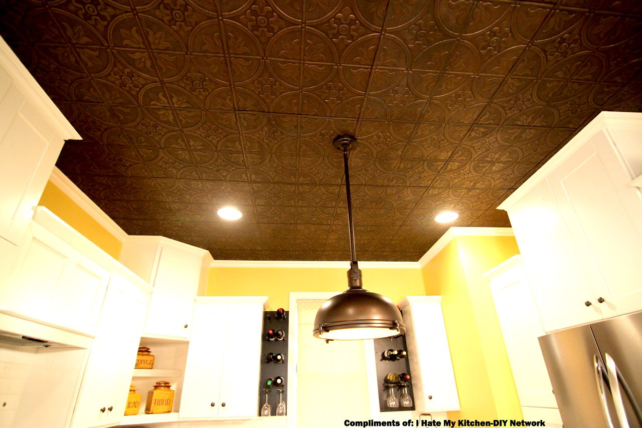 Faux tin ceiling tiles tin ceilings ceiling tiles and easy install faux tin ceiling tiles easy install dailygadgetfo Image collections