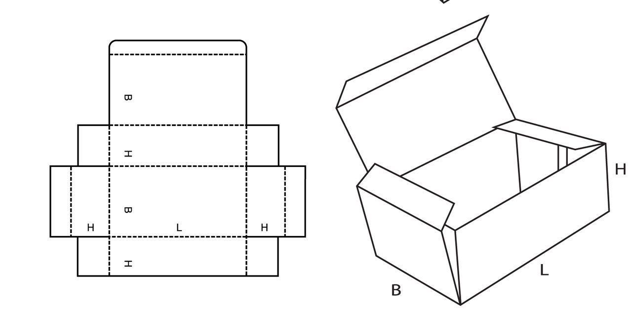 картинки разверток коробок хранились диске