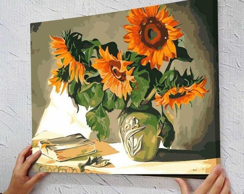 23 Gambar Abstrak Ekspresionisme Gambar Abstrak Ekspresionisme Anak Dari Seorang Mantri Ukur Pabrik G Lukisan Abstrak Lukisan Bunga Lukisan Bunga Matahari