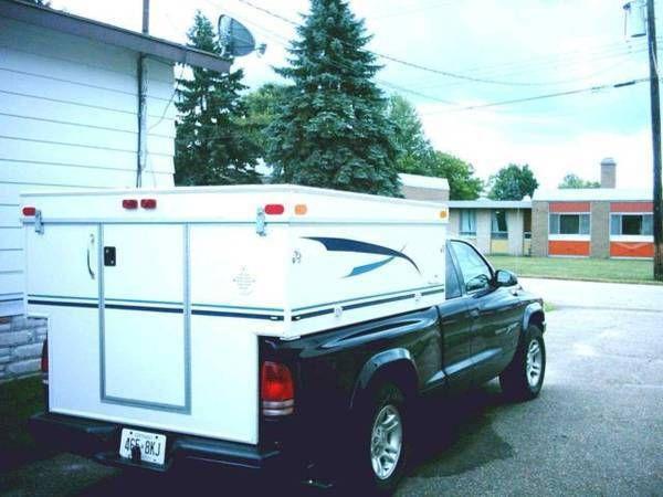 Build Your Own Camper Or Trailer Glen L Rv Plans Slide In Truck Campers Homemade Camper Camper