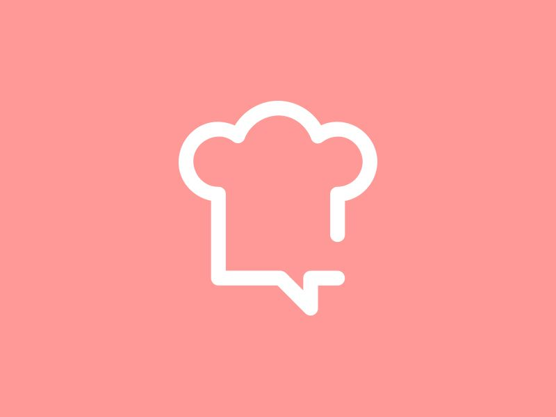 Chef Talk Cooking Logo Chef Logo Cooking Photography