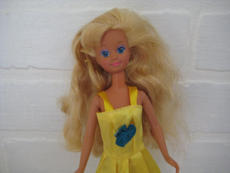 1987 Mattel Skipper Doll, Vintage 1980s skipper doll;, Barbie's Little Sister