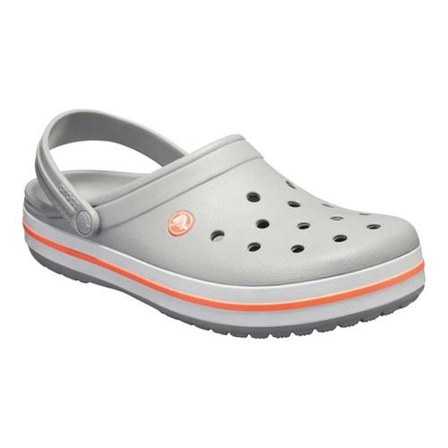 zamówienie przystojny buty jesienne Crocs Crocband - Light Grey/Bright Coral Clogs | Products in ...