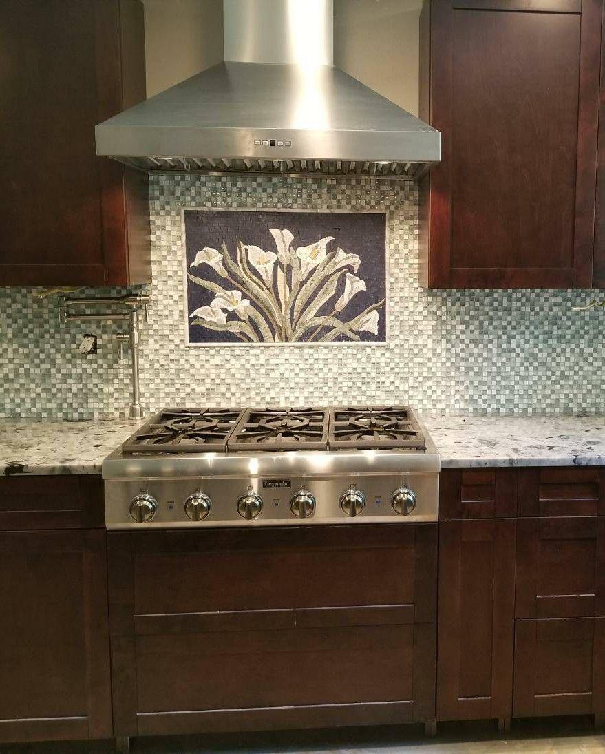 - Mosaic Wall Art - Kitchen Wall Art - Wall Decor - Mosaic