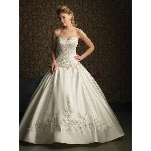 Ballroom Strapless Wedding Dress Ball Gown Wedding Dresses Strapless ...