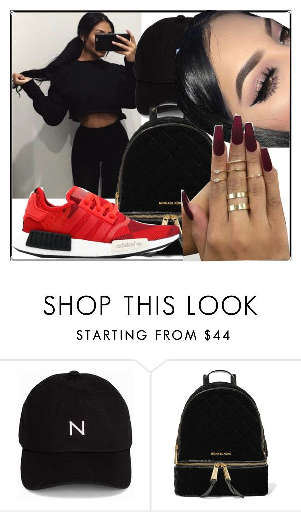 """""""yay"""" by yokothegoddess ❤ liked on Polyvore featuring New Black and MICHAEL Michael Kors"""