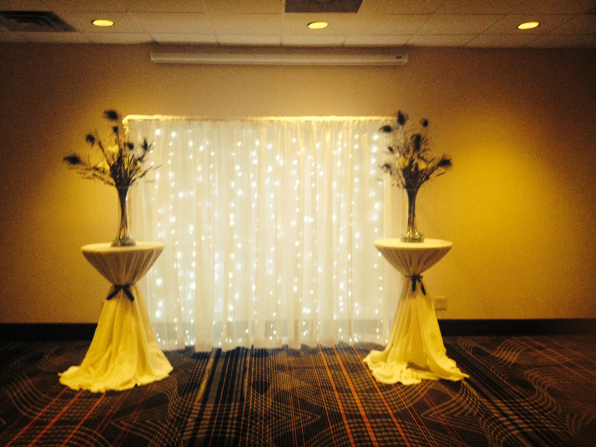 Pvc Pipe White Sheer Curtains Led Curtain Lights