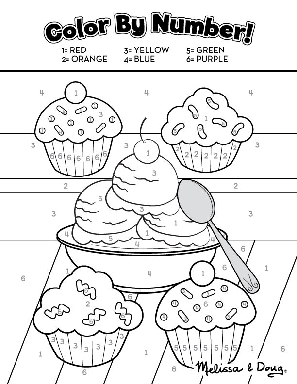Sweet Treats Educational Printable