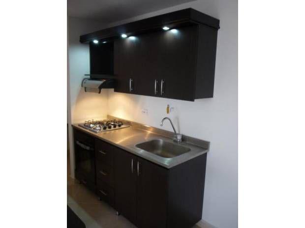 Cocinas minimalistas para casas peque as buscar con for Cocinas para apartamentos pequenos