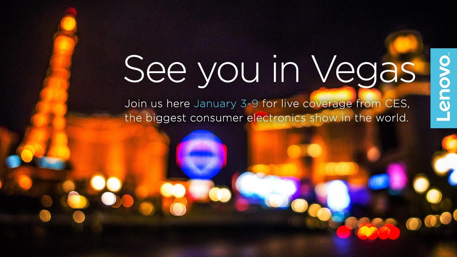 Sei pronto per Las Vegas? Noi sì! Inizia il CES, la più grande fiera internazionale dell'elettronica dove Lenovo presenterà i suoi nuovissimi prodotti... stay tuned!!! #CES2016 #LenovoCES #NeverstandStill