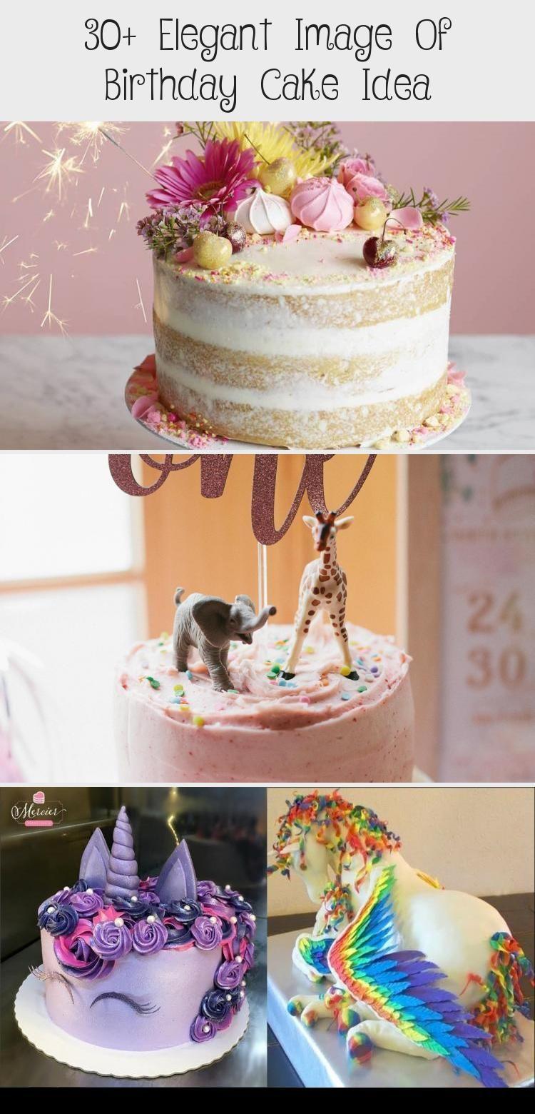 Photo of 30+ Elegant Image of Birthday Cake Idea . Birthday Cake Idea Surprise Pinata Cak…