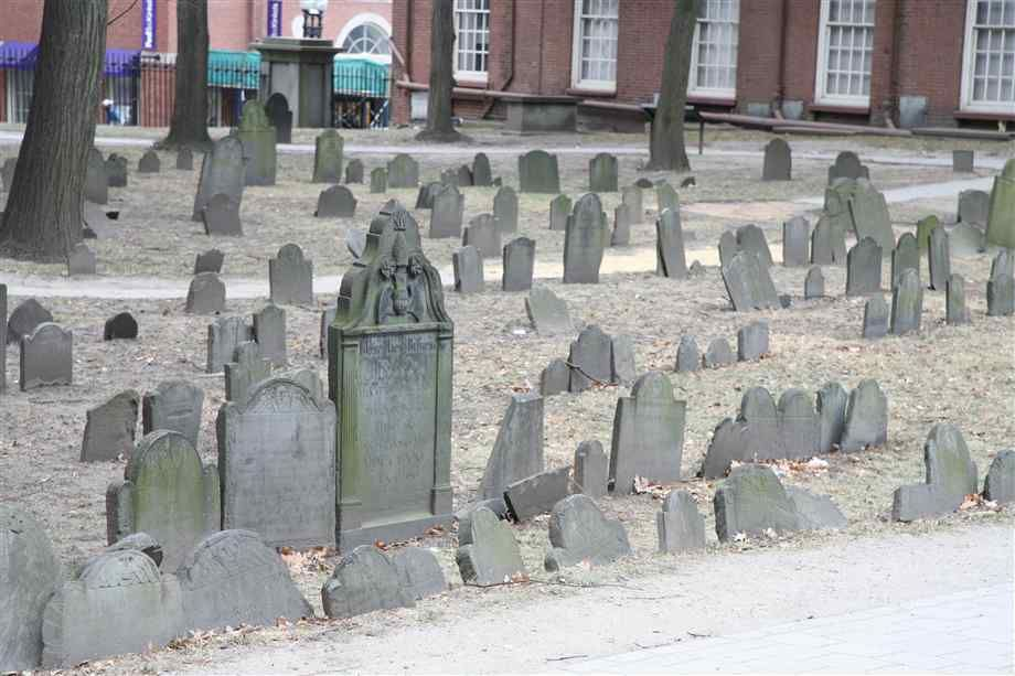 Old Boston cemeteries or any old cemetery