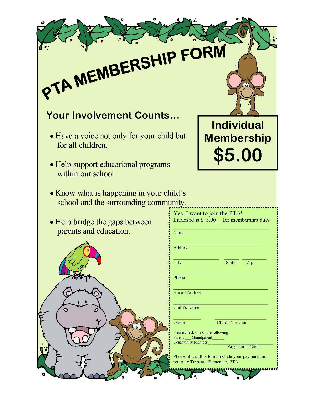 Tiger news pta membership drive through october 31st pta tiger news pta membership drive through october 31st pronofoot35fo Image collections