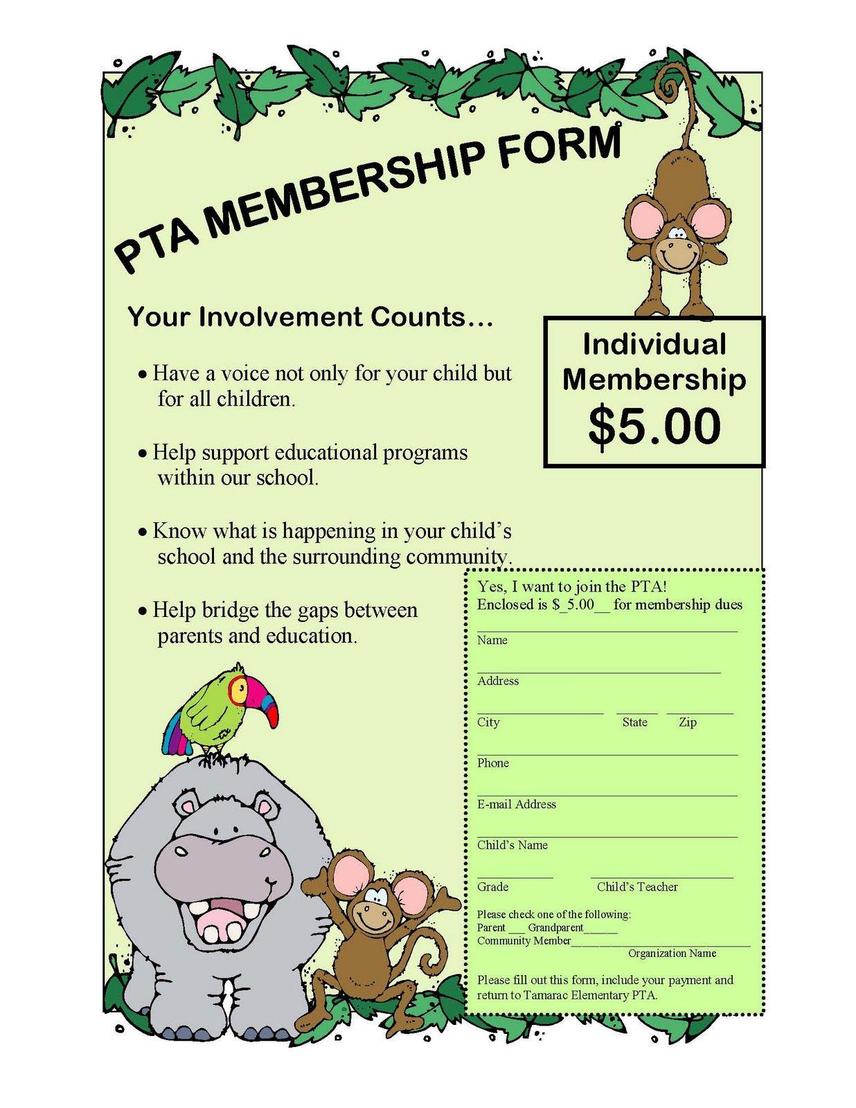 Tiger News: PTA Membership Drive through October 31st | PTA ...