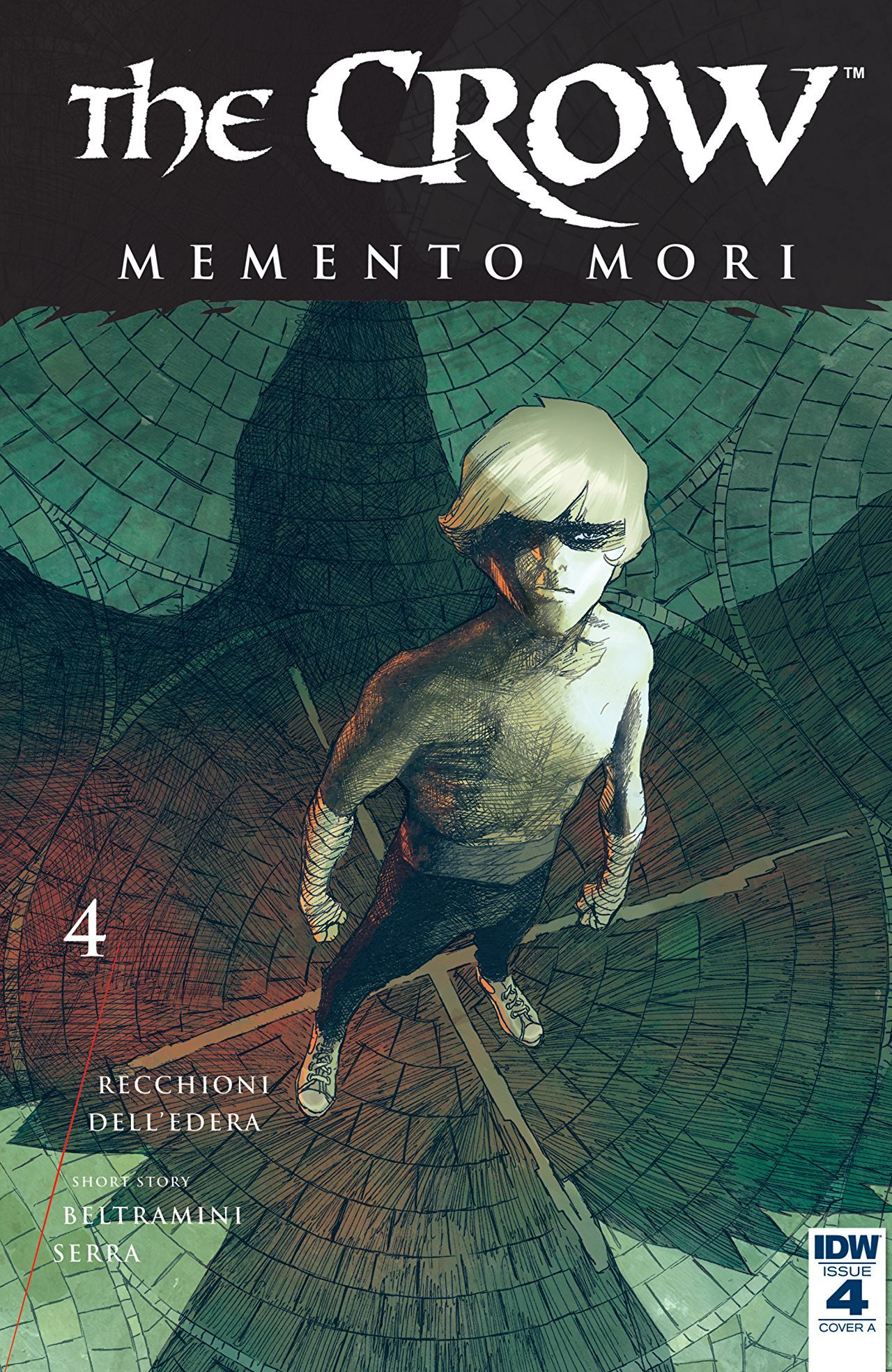 The Crow Memento Mori 4 Memento mori, Comic book