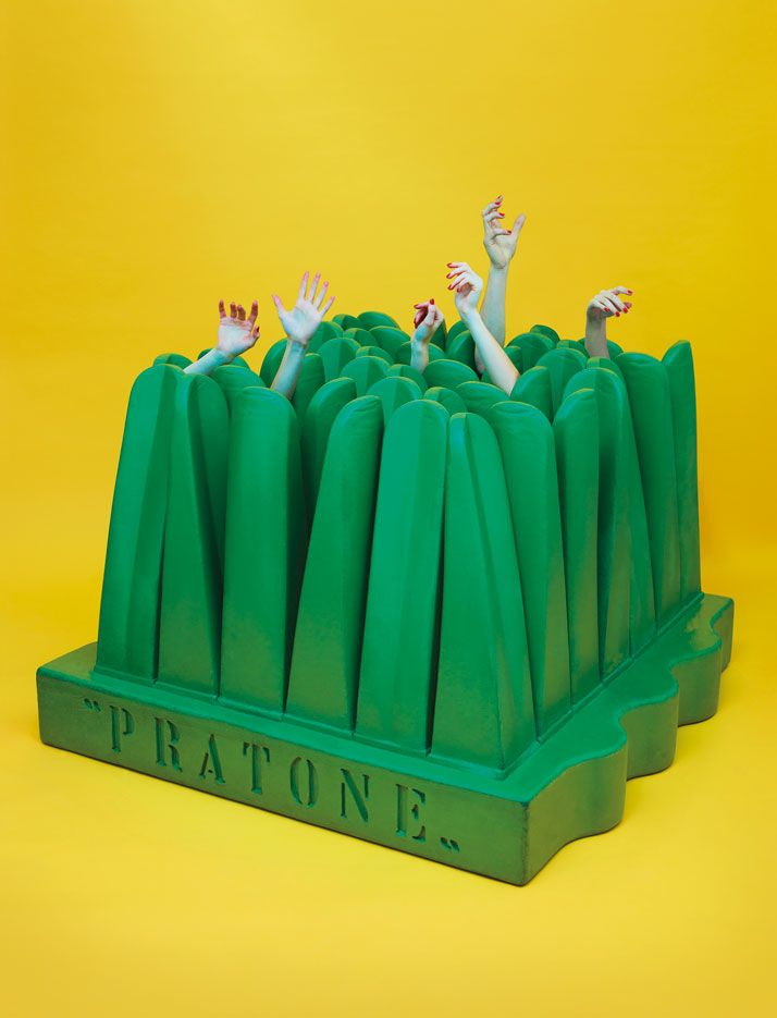 ''1968: Radical Italian Furniture'' by DESTE Foundation and TOILETPAPER | Yatzer