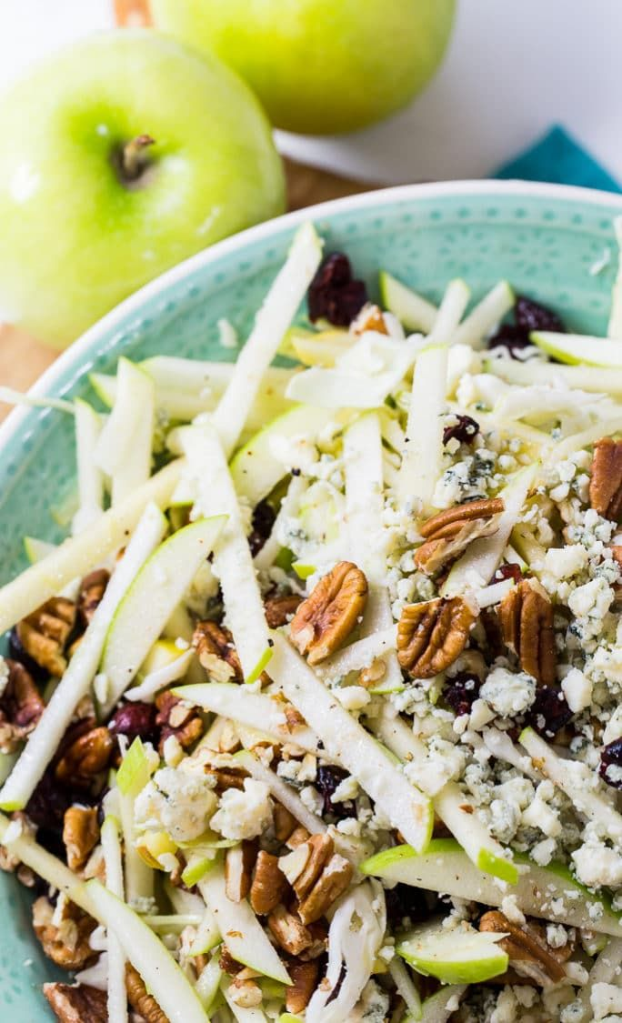 Apple Maple Pecan Salad - Spicy Southern Kitchen A
