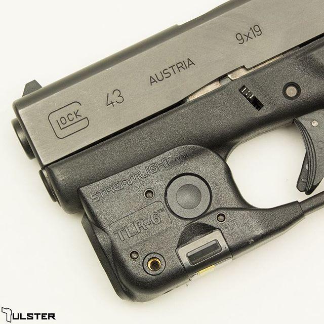 Streamlight Trigger Guard Light/Laser TLR-6 for Glock 42/43