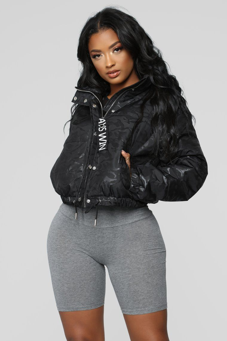 0d9ea913c Stolen Identity Puffer Jacket - Black in 2019 | Fav clothes | Puffer ...