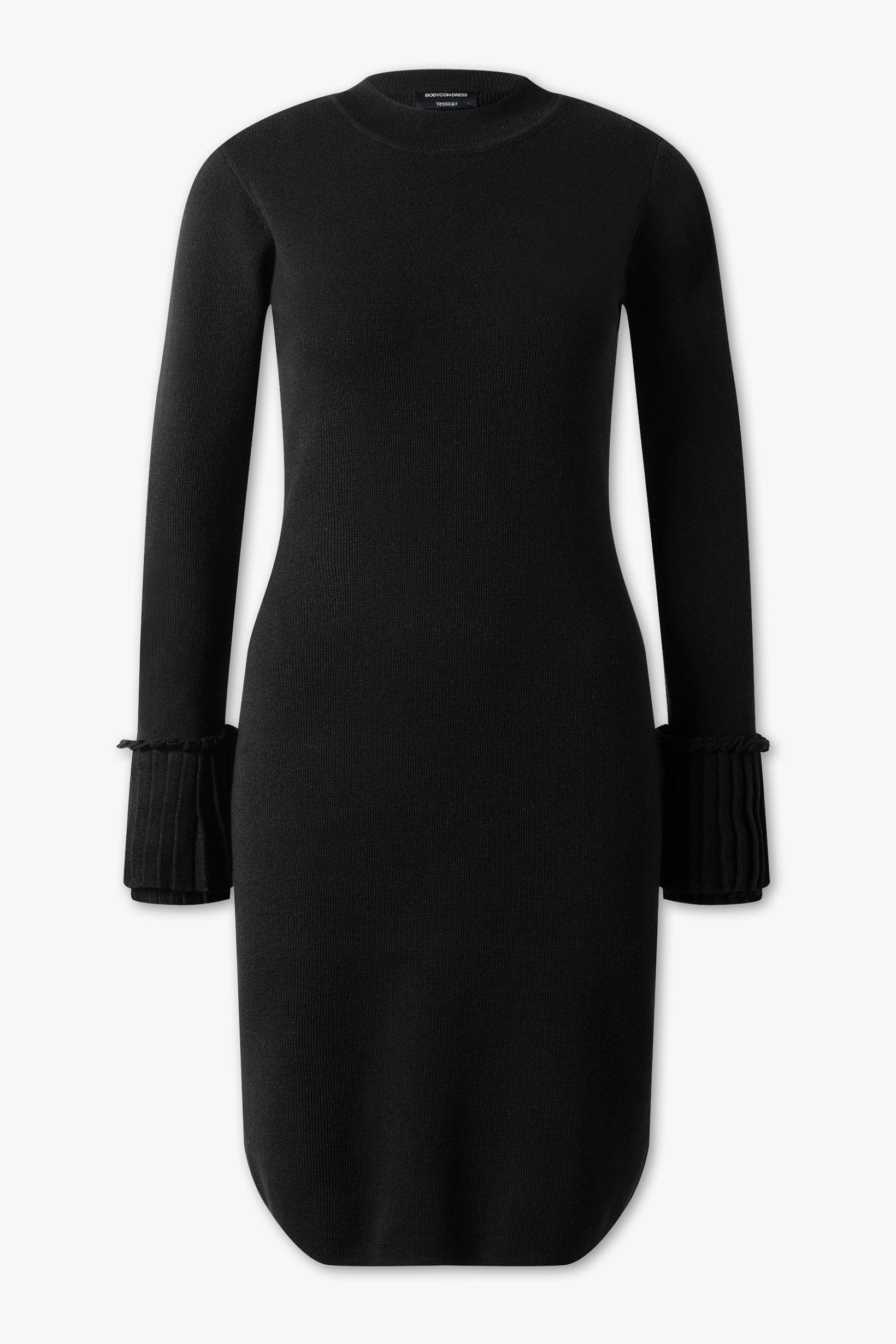 Gebreide jurk c&a