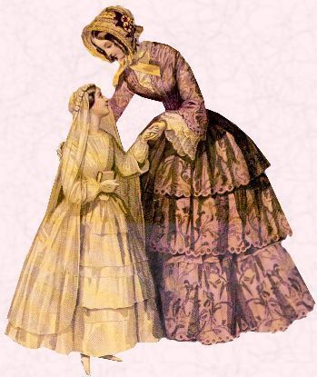 Typical domed appearance of   petticoat supported Victorian crinoline dress and child's confirmation dress of 1851. #confirmationdresses Typical domed appearance of   petticoat supported Victorian crinoline dress and child's confirmation dress of 1851. #confirmationdresses Typical domed appearance of   petticoat supported Victorian crinoline dress and child's confirmation dress of 1851. #confirmationdresses Typical domed appearance of   petticoat supported Victorian crinoline dress and child's c #confirmationdresses