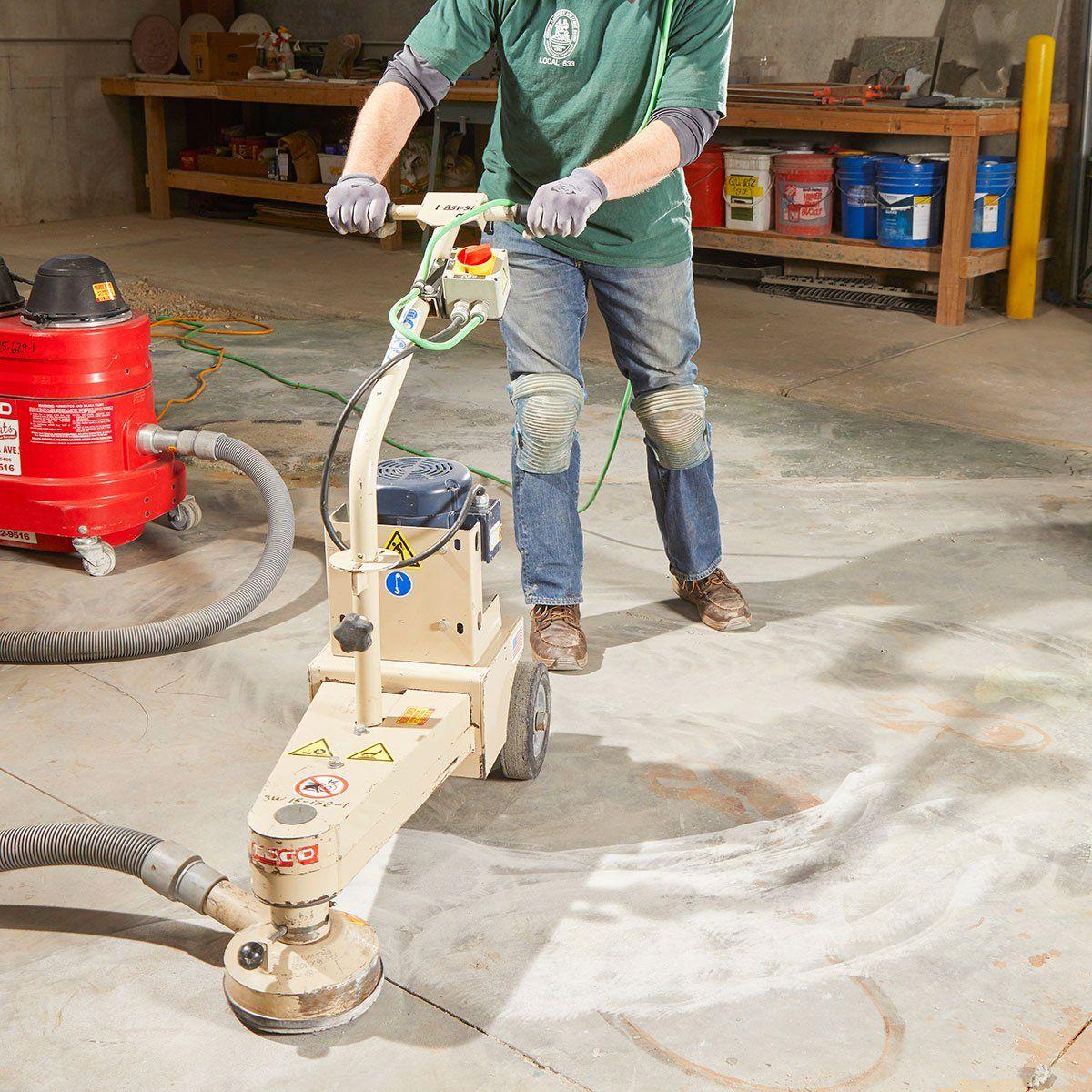 How To Level Concrete Slabs Concrete Slab Concrete Concrete Floors
