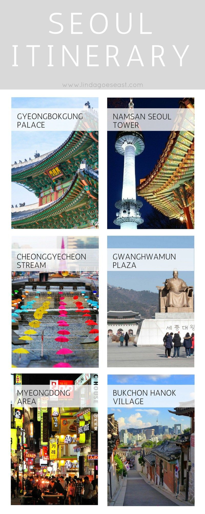 How To See Seoul In 48 Hours See All Of Seoul In 2 Days Korea Travel Seoul Travel South Korea Travel