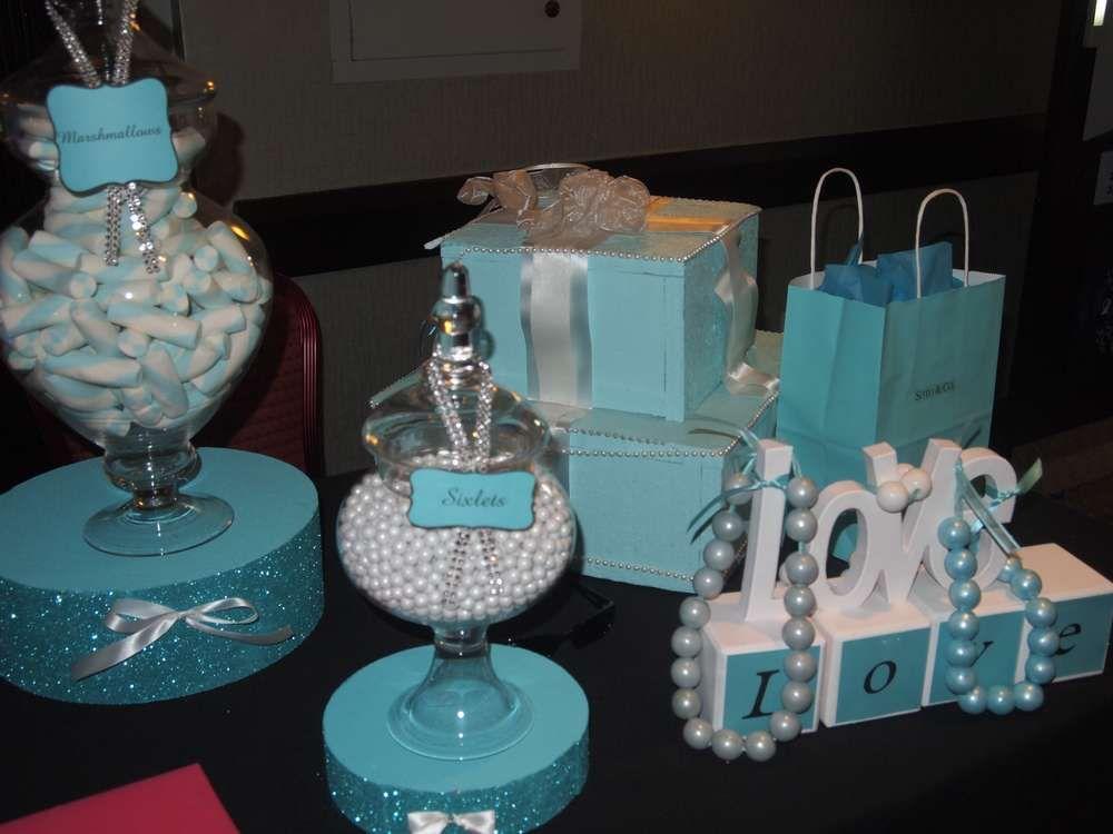 TIFFANY & CO Bridal Show Party Ideas