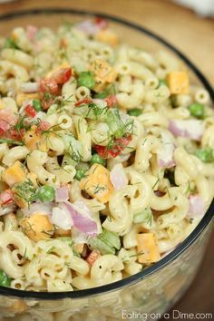 Easy Macaroni Salad -   22 macaroni salad recipes ideas