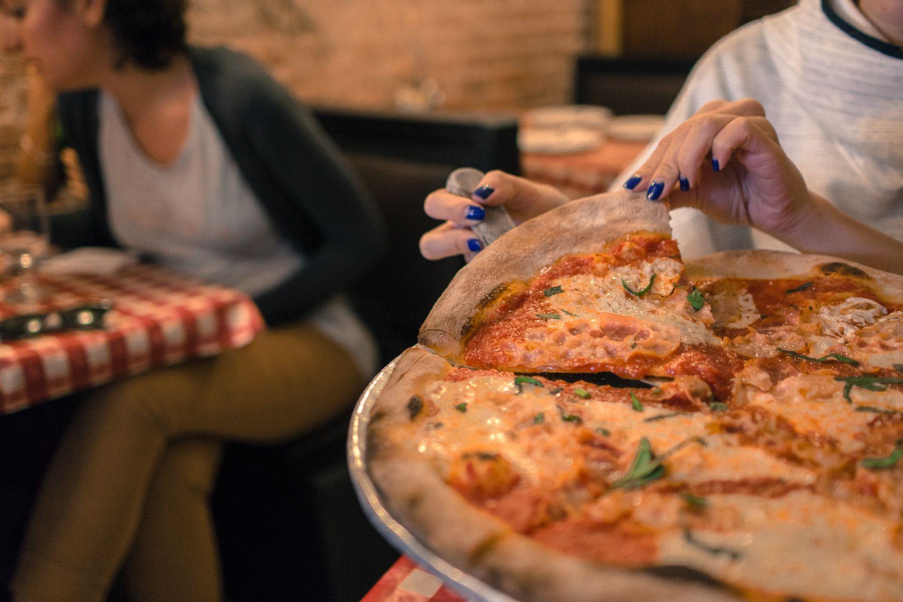 New York City Cray Lombardi S Pizza Original Margherita Pancetta