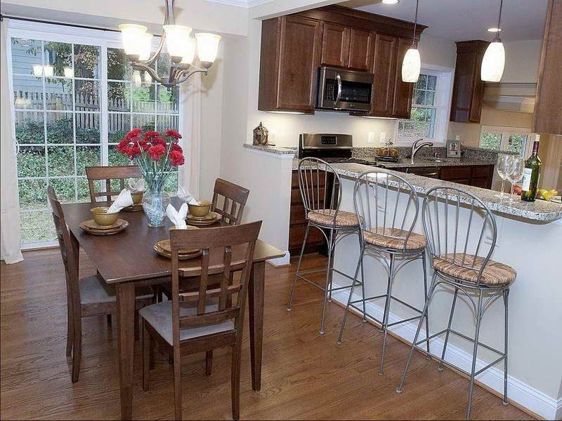 Tags kitchen remodel ideas galley kitchens kitchen split for Split level home kitchen ideas