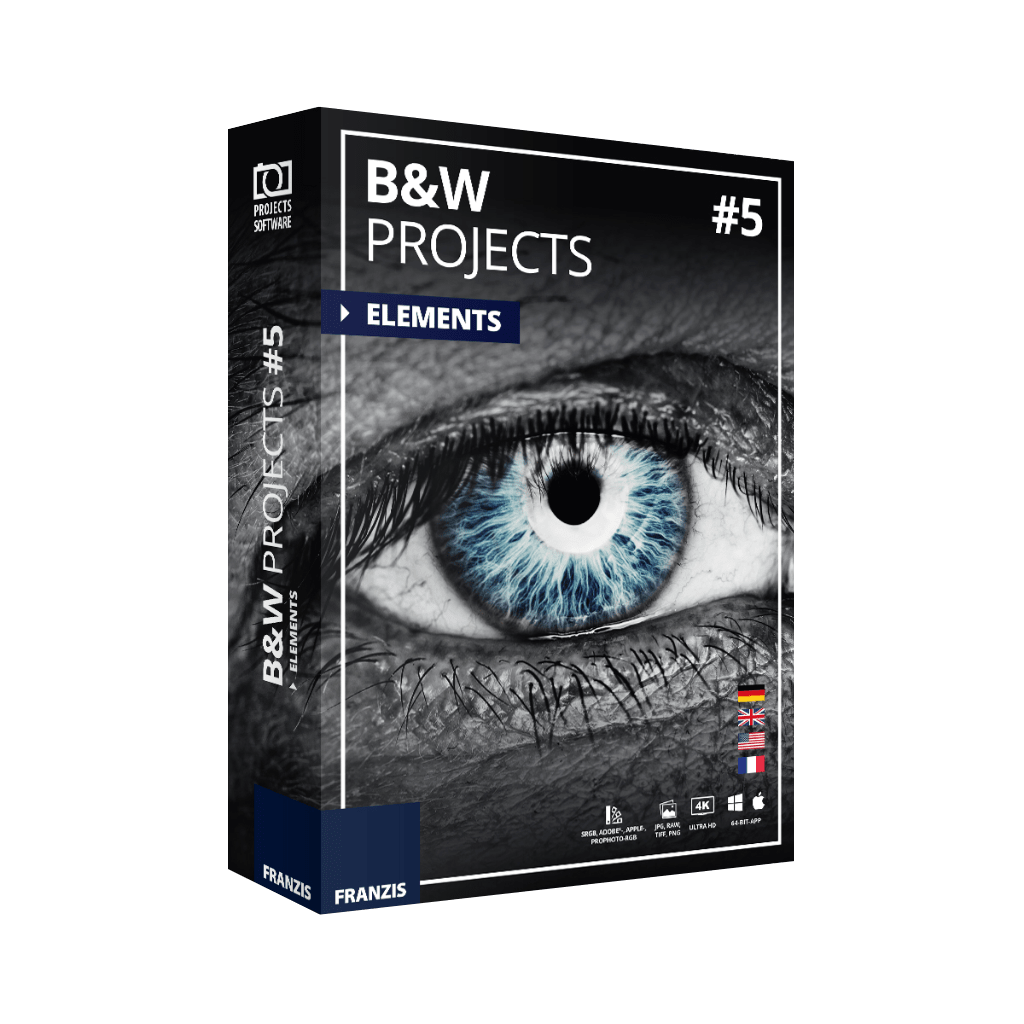 Black & White Projects 6 Pro Review & Free v5 Elements