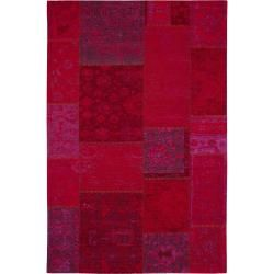 Photo of benuta flat woven carpet Frencie red 240×340 cm – vintage carpet in used look benuta