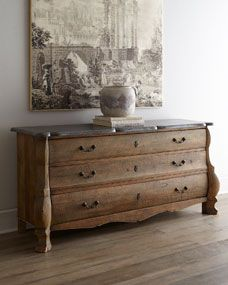 Concetta Three-Drawer Chest, storage piece idea for entry hall