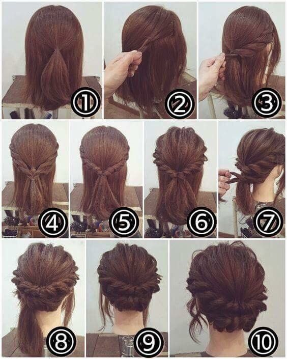 Pin By Cassie Firth On Peinados Long Hair Styles Hair Styles Diy Hairstyles