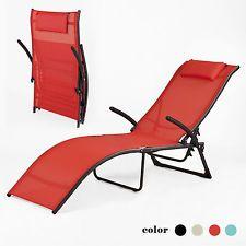 sobuy fauteuil relax chaise longuetransat de jardin pliablerouge ogs22 r fr - Fauteuil Relax Jardin Pliable