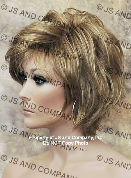 Heavily Layered Short Shag Wig #shortshag