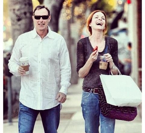 Tom Mahoney and Marcia Cross this one makes my heart smile