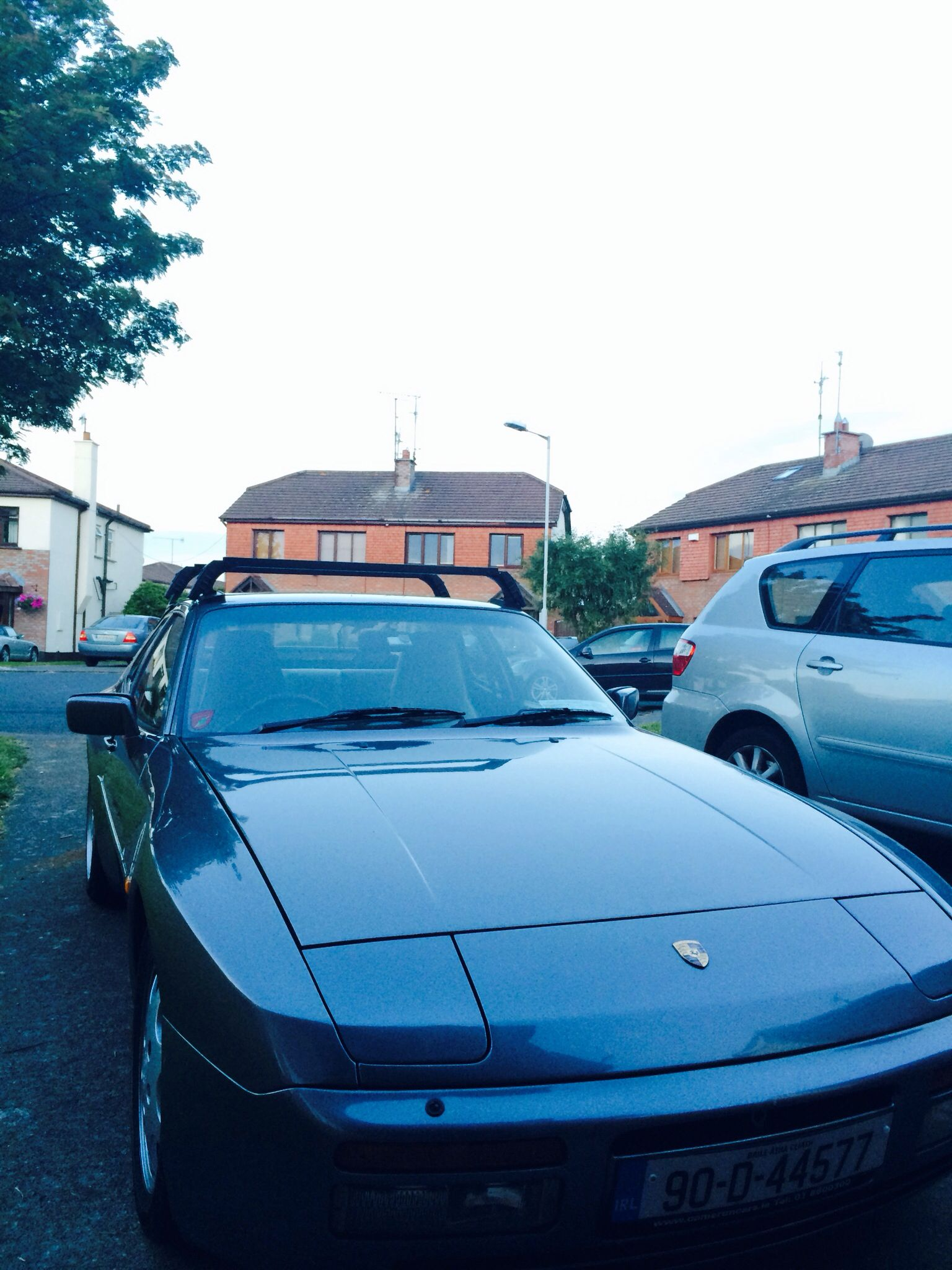 Porsche 944 With Roof Transport System Oem Roof Rack Porsche 944 Roof Rack Porsche