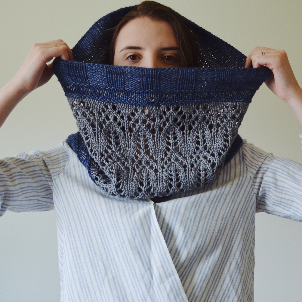 Photo of Oblivion Cowl pattern by Maria Walters