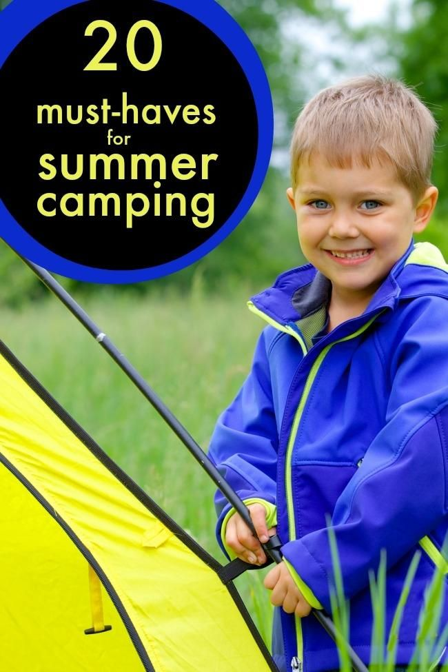 Summer Camping Must Haves   Camping must haves, Camping ...