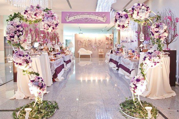 Paris Theme Wedding Reception Picswe