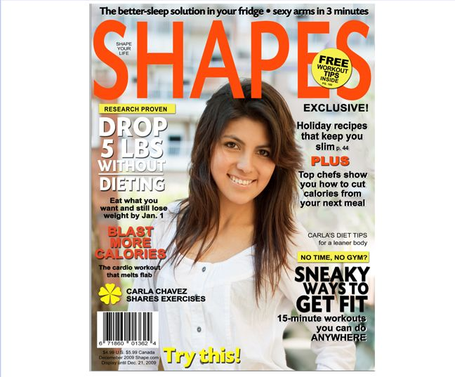Magazine Cover Templates : Shapes Fitness Magazine Cover Template ...