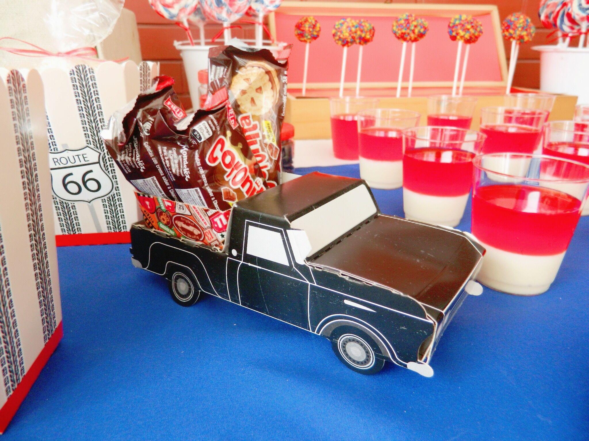 Carros -  Fiesta de Garaje vintage. Cars - Birthday party vintage garage